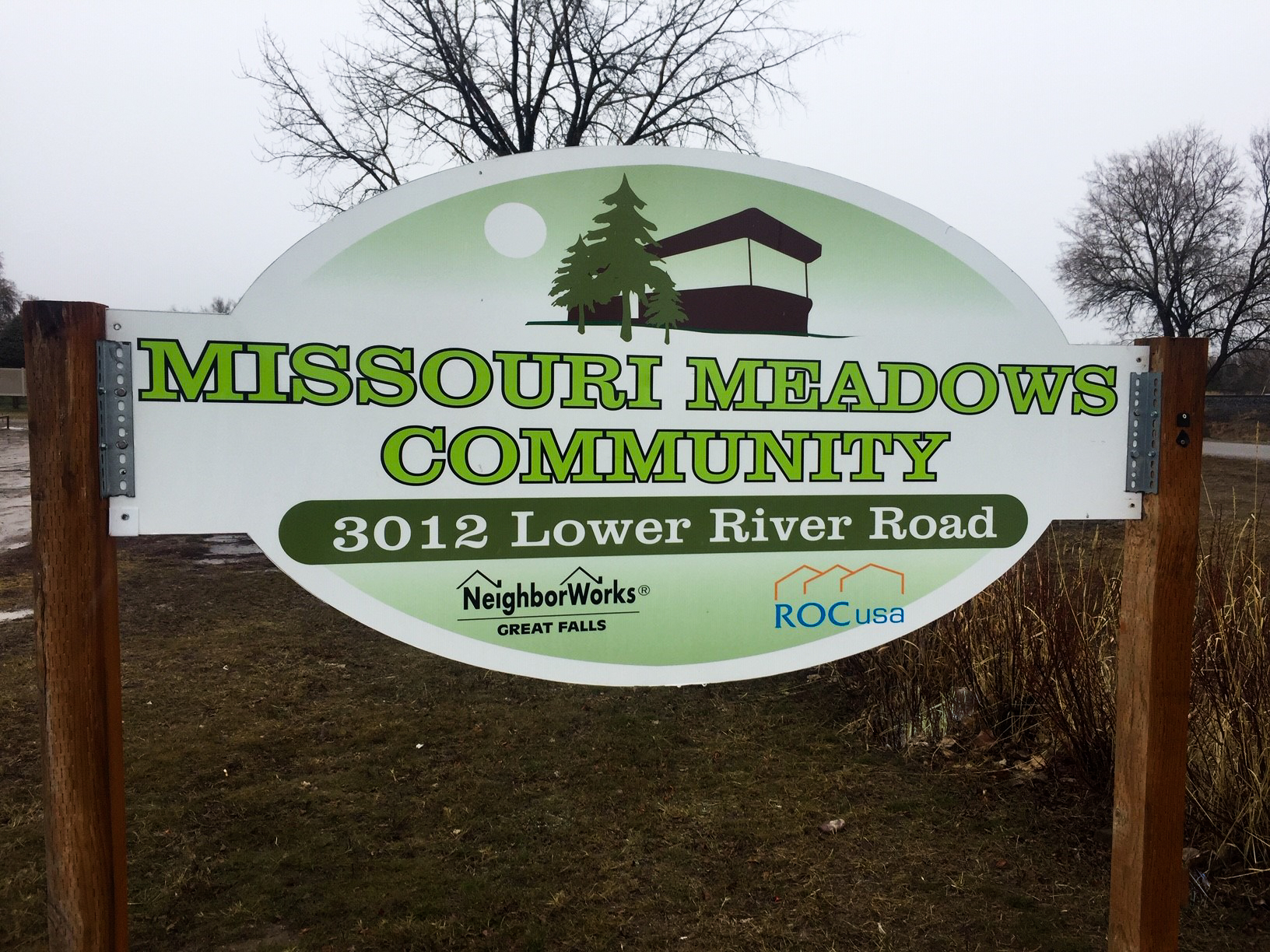 Missouri Meadows Sign